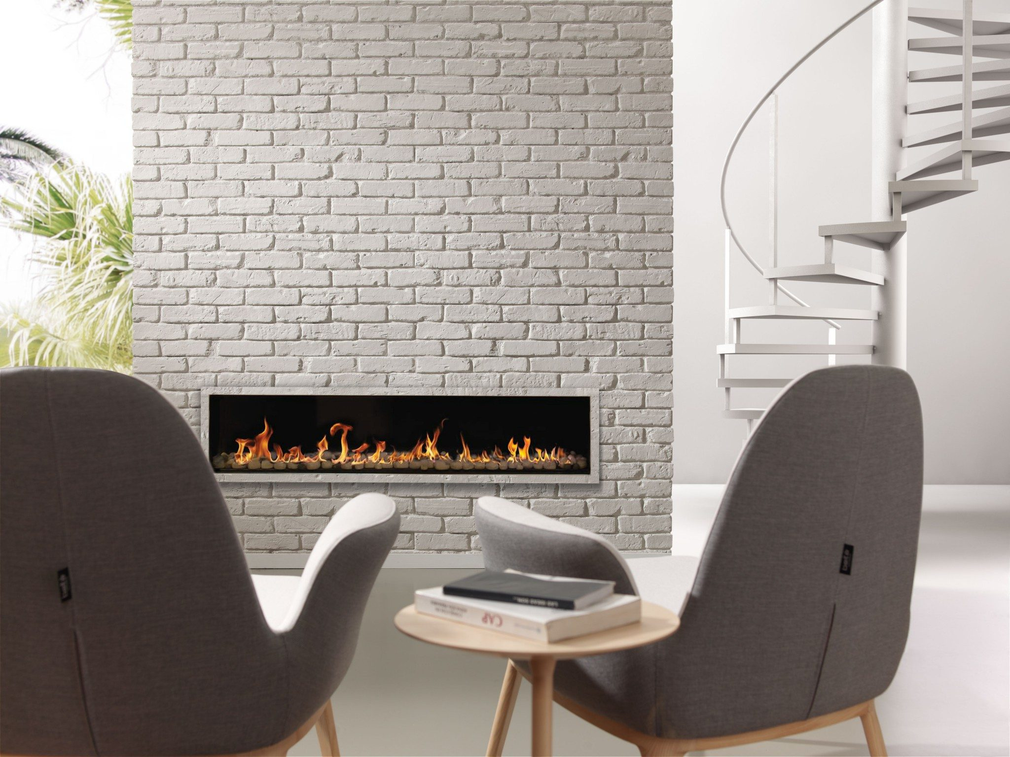Vidaspace hw0100 trikbrik white brick cladding composite - Interior wall sheeting materials ...