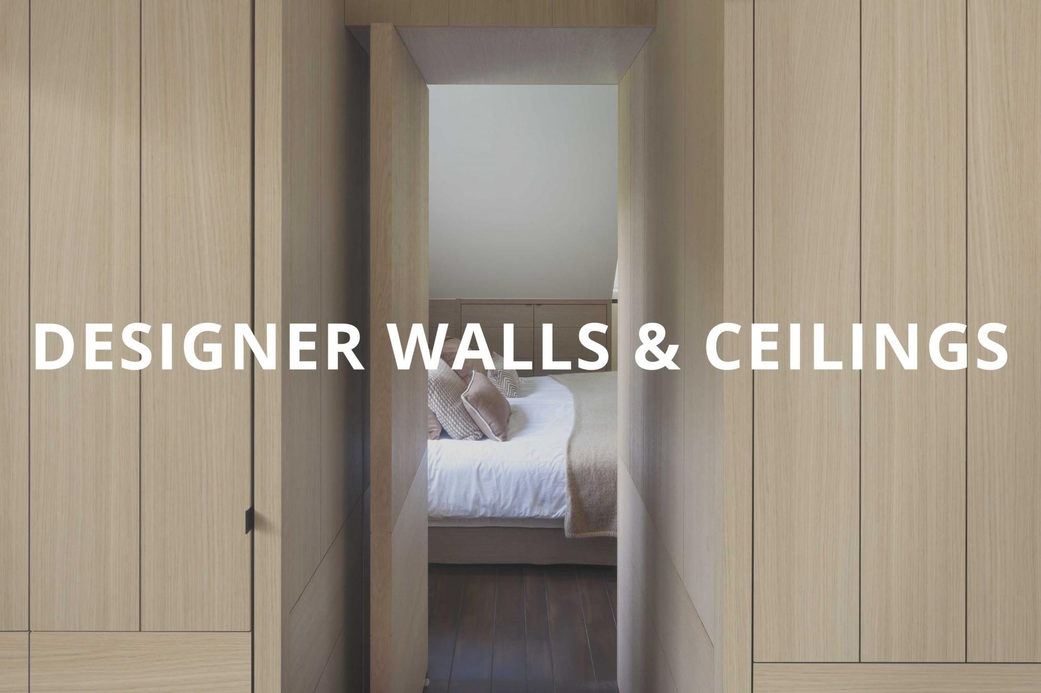 Browse Designer Walls & Ceilings