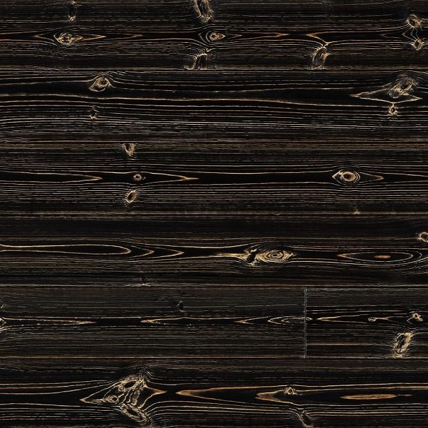 Antique Black Solid Spruce Cladding