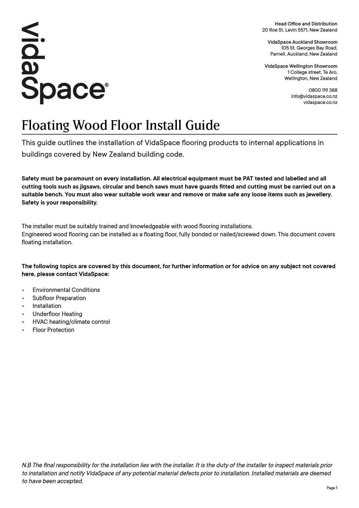 Solid and Engineered Wood Flooring Nail Down Installation